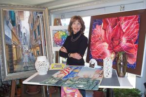 Artist Carolyn Coffey Wallace Featured In The P.E.O. Record Magazine