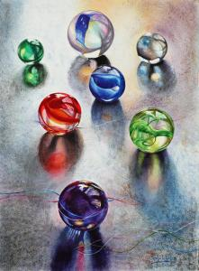 Artist Carolyn Coffey Wallace Accepted Into The Watercolor Missouri International 2014